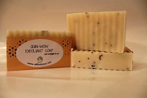 Quin-Wow Exfoliant Soap (unfragranced)