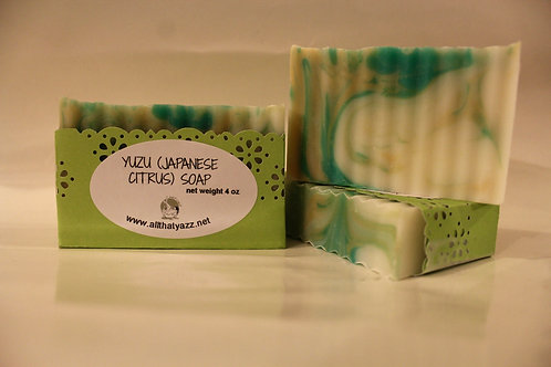 Yuzu (Japanese Citrus) Soap