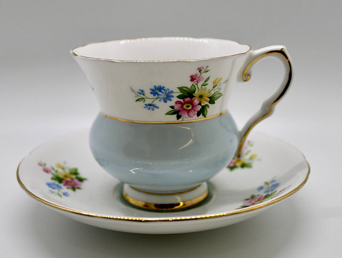 Royal Stafford Bell Bottom Tea Cup Candle