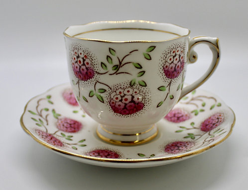 Roslyn English Bone China Teacup Candle