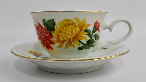 November Chrysanthemum Candle