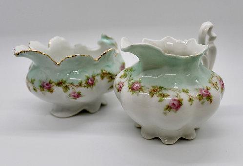 Austrian Porcelain Teatime Candle Set