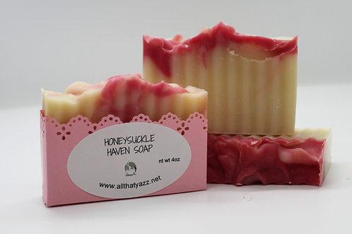 Honeysuckle Haven Soap