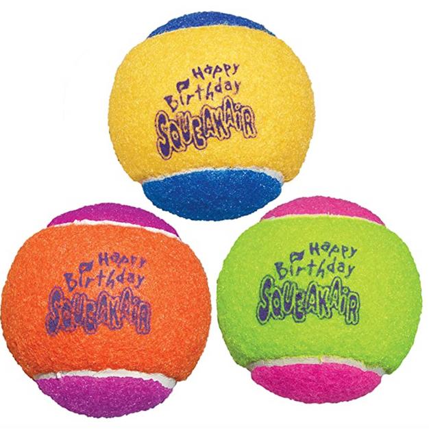 Kong Birthday Squeaker Balls