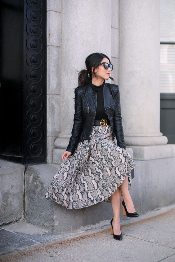 leather jacket chaqueta de cuero prendas basicas basicos guardarropas closet moda femenina fashion stylist estilismo consultora de imagen fashion lover blog de moda revista magazine panama pty outfit look vestimenta