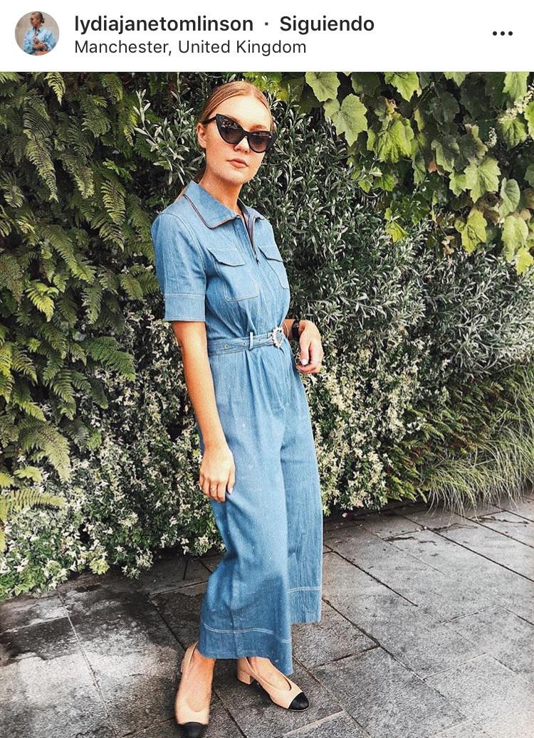 denim jean blue jean outfit look del dia moda fashion tendencia trend revista magazine panama fashionable fashion lover