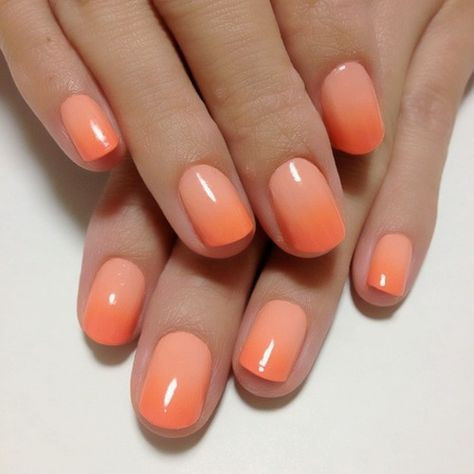 nail uñas esmalte polish diseño nail art color tendencia trend orange anaranjado belleza beauty