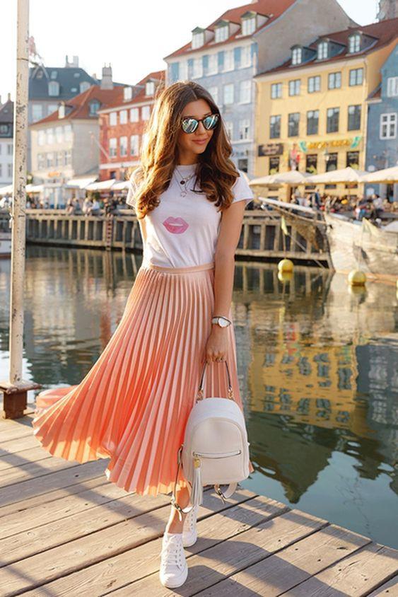 maxi falda maxi skirt faldas estilismo outfit inspiracion moda fashion girly tendencias fashion lover fashionista blog outfit