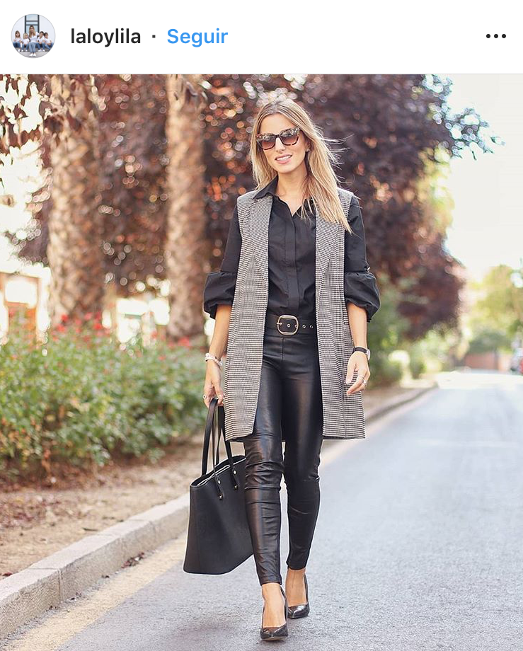 chaleco vest cuero lino denim outfit fashion moda tendencias trend trendy chic fashionista look del día girly revista magazine panama pty