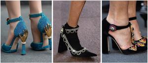 heels high heels calzado zapatos shoes women mujer embellished ornamentos adornos decoracion moda fashion tendencia otoño invierno fall winter 2019 shoelover trend magazine revista panama