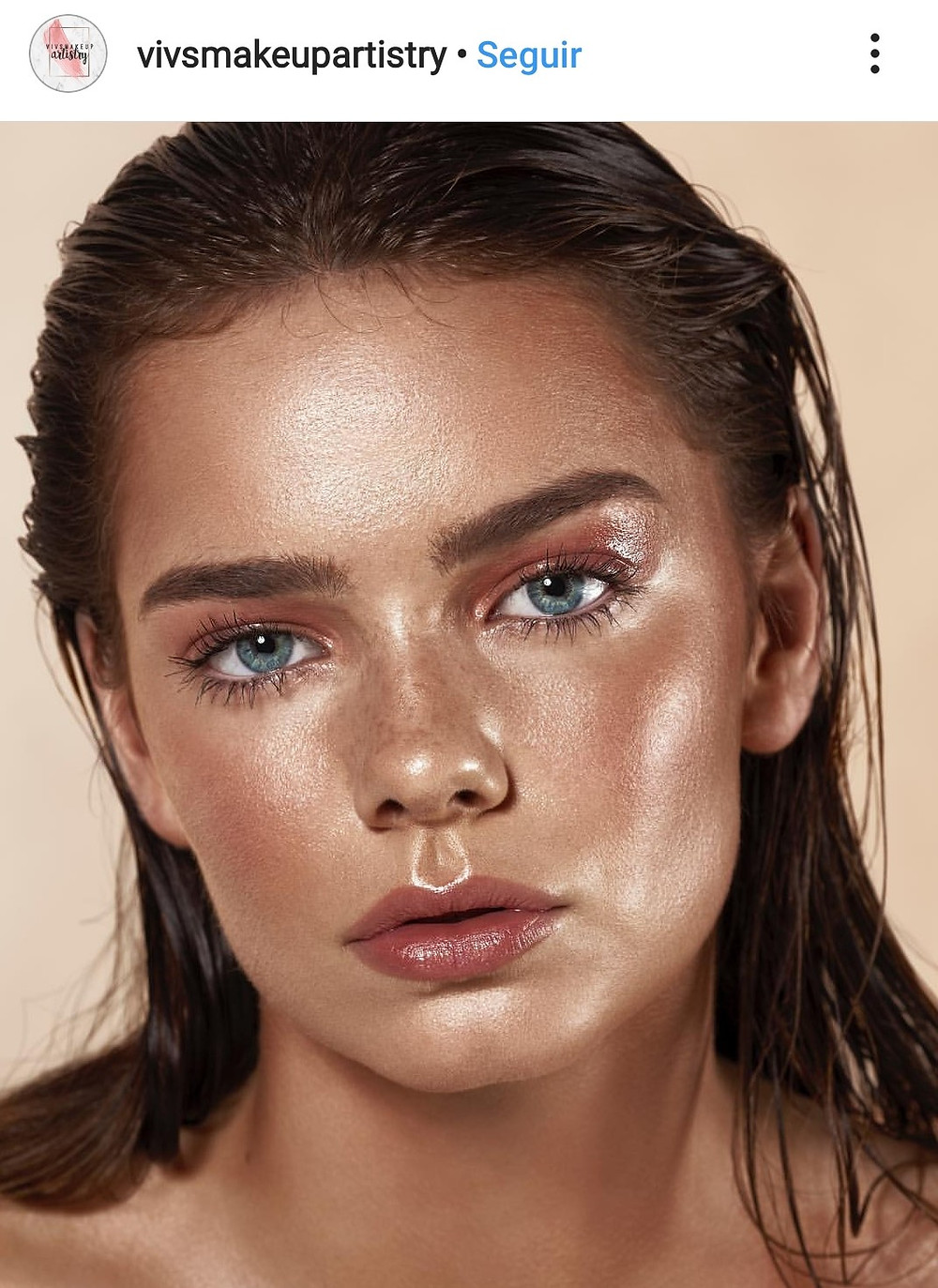 summer trend tendencias verano 2019 maquillaje humedo wet makeup look blogger moist