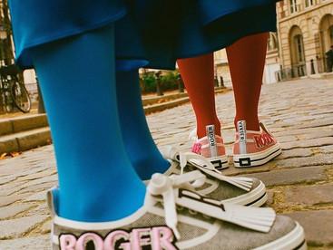 #TrendAlert Patch Sneakers, zapatos con personalidad