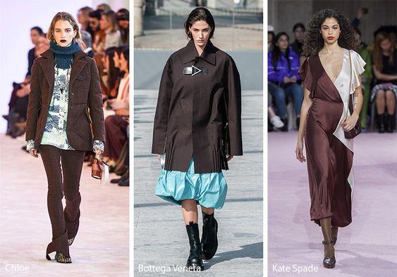 marron chocolate color trend colores tendencias chifory coffee pantone moda fashion