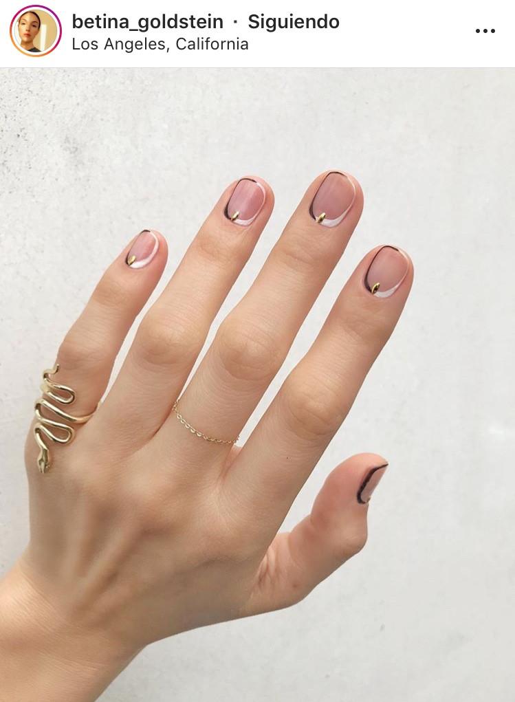 manicure, minimalistic, minimal, minimalista, uñas