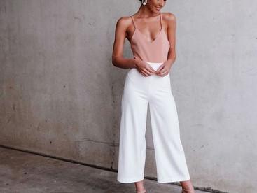 #OutfitInspo Trajes con midi pants, la mejor manera de lucir elegantes en e trópico