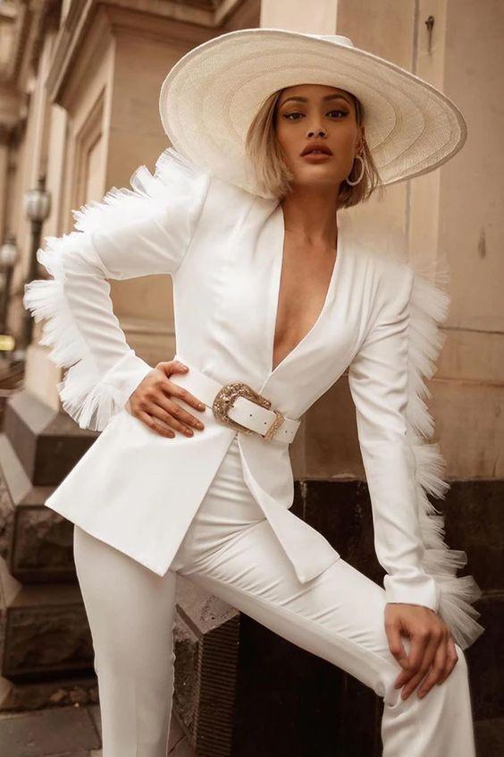 organza outfit look moda fashion inspiracion fashionista girly tendencia trend revista magazine tela textiles tejidos