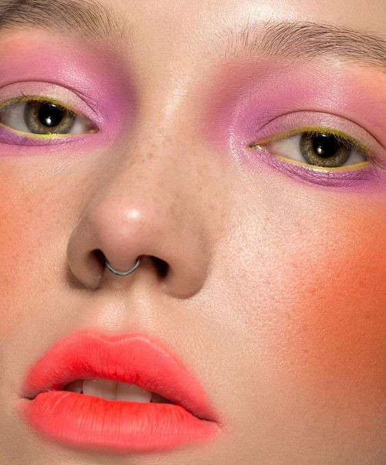 maquillaje makeup ideas belleza beauty tendencias trend magazine revista colores blogger acuarela aquerelle 2019 2020