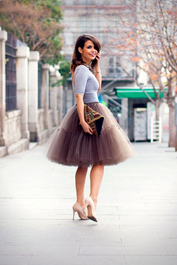 falda tul tulle skirt moda fashion tendencia trend must wear fashionista girly ropa