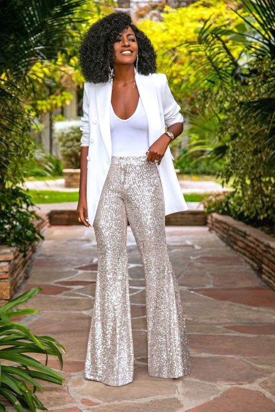 sequin sequins lentejuelas outfits navidad christmas look inspiracion fashion moda tendencias trend girly vestimenta ropa vestidos brillo glam