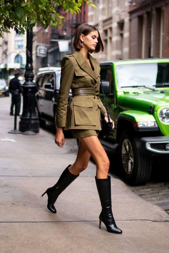 estilo militar army style girly femenino moda military boots botas tendencias trend stylist image consultant estilismo dos y donts fashion moda magazine panama pty revista