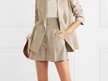 #OutfitInspo Trajes de blazer con bermudas y shorts