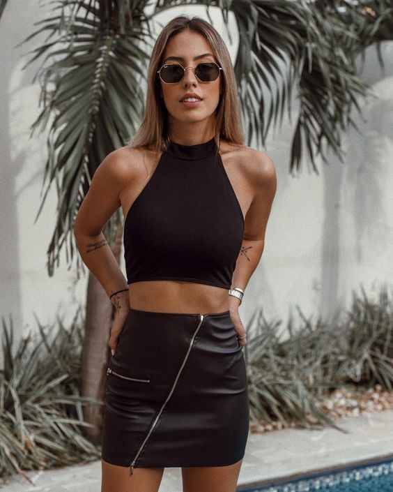 crop top top nadador swimming top streetstyle moda casual fashion tendencias trend trendy inspiracion blogger revista magazine panama pty