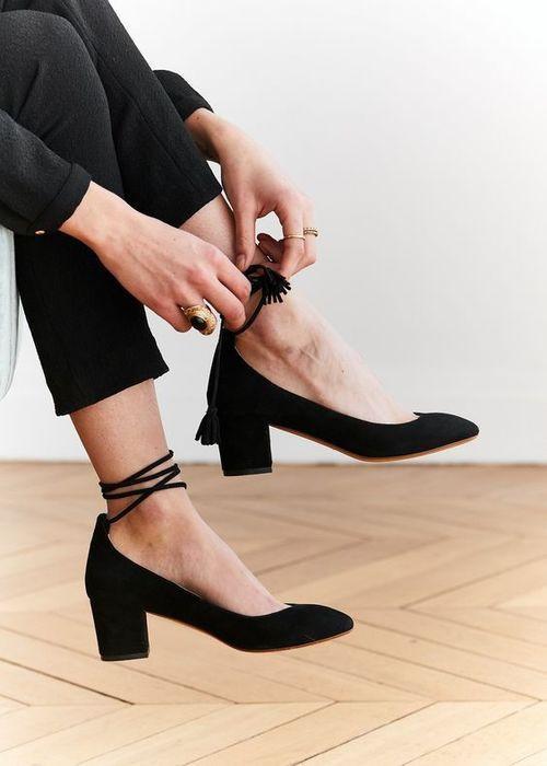 calzado tacon bajo heels zapatos shoes sholover moda fashion tendencia estilo clasico revista magazine
