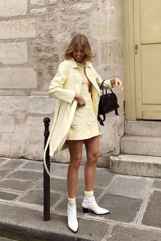 amarillo pastel pastel yellow color trend tendencia de colores inspiration moda fashion summer 2020 verano fashionsita fashion lover amarillo mantequella revista magazine