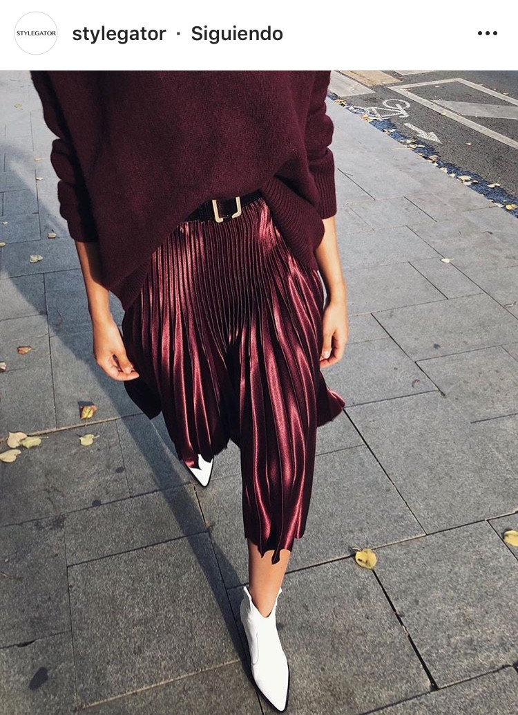 vinotinto colores burgundy fall otoño fashion moda tendencia trend revista magazine inspiracion blogger fashion lover sofisticacion elegancia mujeres