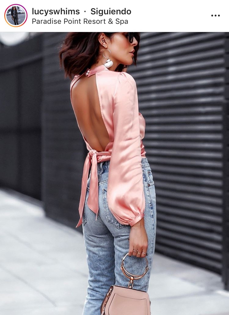 espalda al aire backless escote outfit inspiration moda fashion tendencias trend fashionista escotes