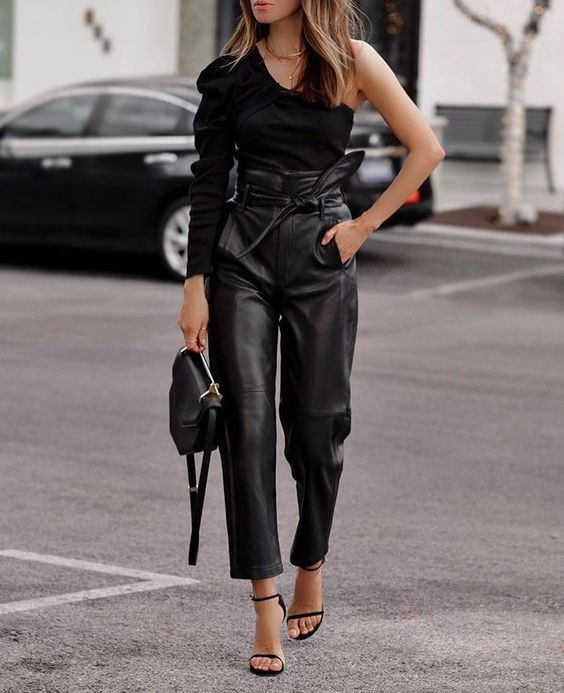 leather pants cuero pantalones pantalon ropa vestimenta outfit moda fashion tendencia trend fashion lover magazine revista