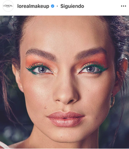 delineado colores cat eye colorful makeup maquillaje tendencias trend fashionista fashion lover belleza beauty magazine revista panama pty