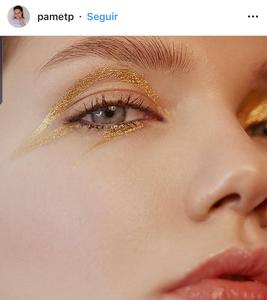 maquillaje metalico, metallic makeup, maquillaje, makeup, trend, tendencias, glitter, beauty, belleza