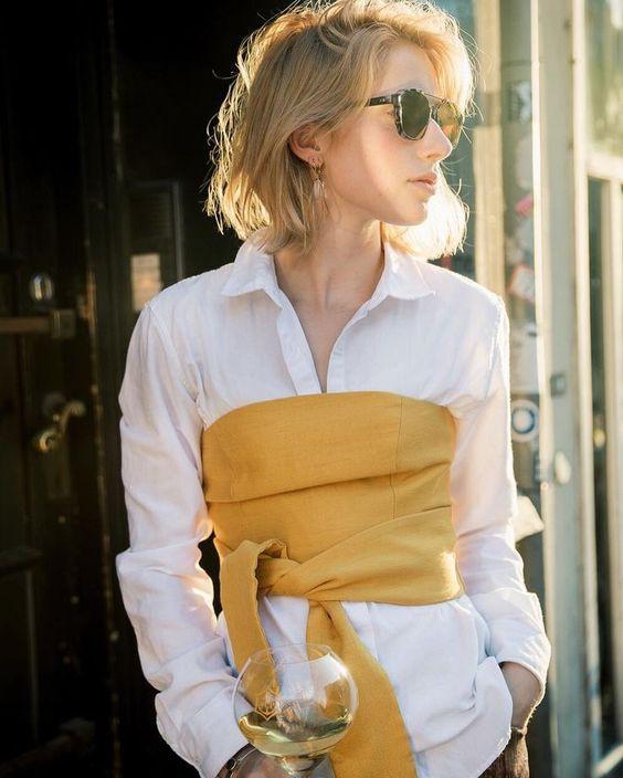corsé corset cinturon belt moda fashion tendencia trends trendy instagramer revista magazine fashionista glam outfit
