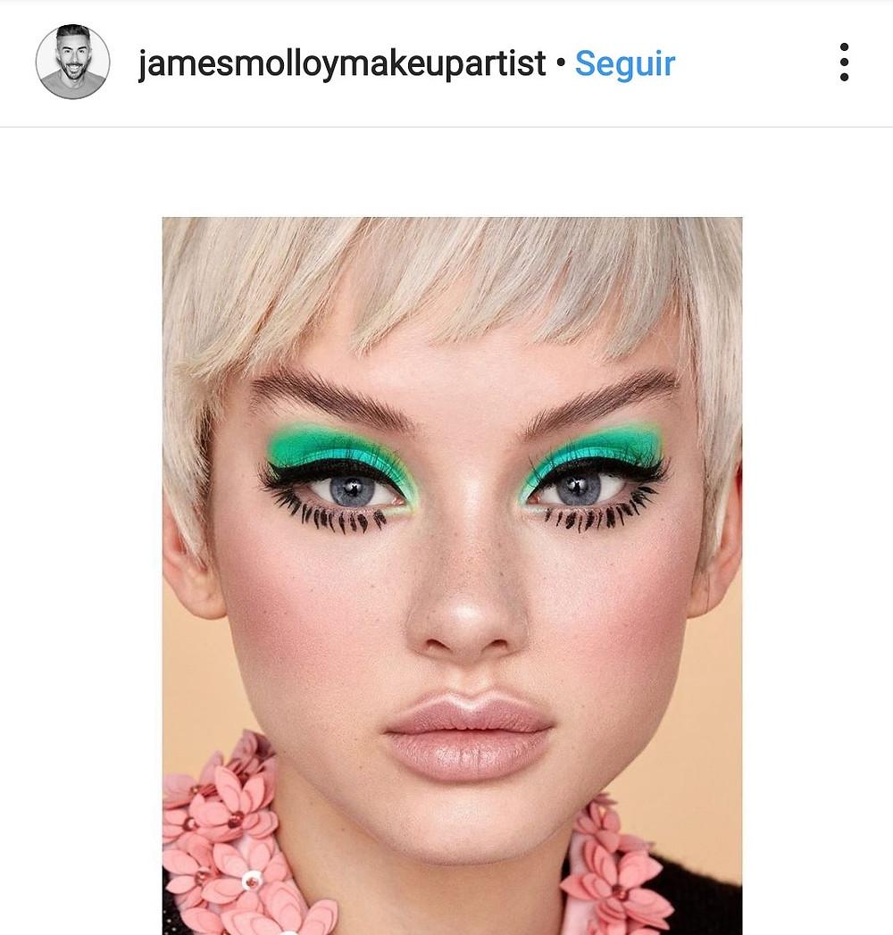 graphic makeup maquillaje grafico delineado drama tendencias trends moda belleza fashion beauty maquillaje profesional