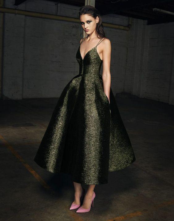 vestidos dress dresses vestido mangas volumen dramatico estilo style fashion moda fashionista trend tendencias revista mangas 2019