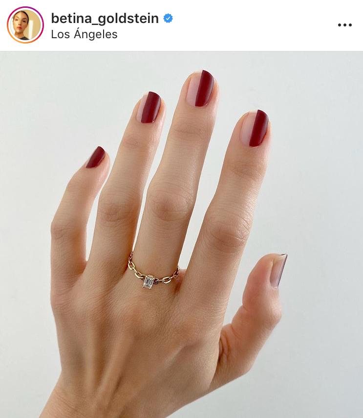 nail art diseño de uñas esmalte christmas navidad felices fiestas belleza beauty tendencias trend nail polish