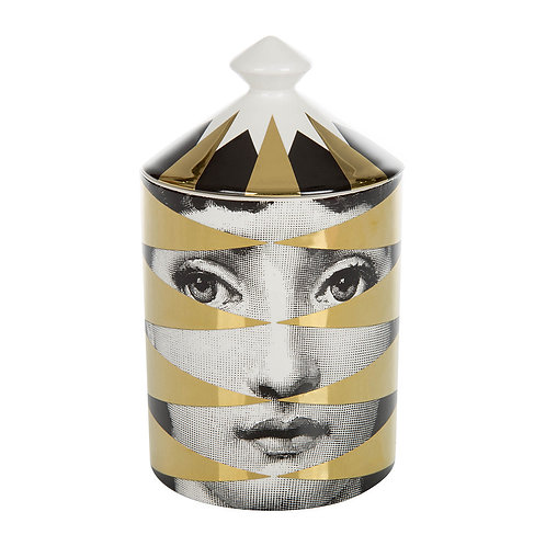 GOLD Losanghe Scented Candle 300g FORNASETTI TEL AVIV AT THEGATE24