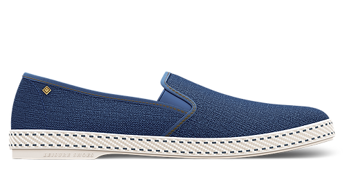 BLUE DENIM RIVIERAS SHOES WOMEN TEL AVIV AT THEGATE24