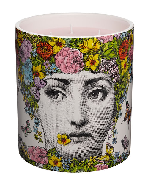 BIG SIZE  Flora Scented Candle 1.9KG FORNASETTI TEL AVIV AT THEGATE24