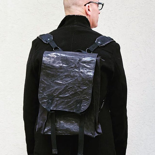 TRANSIT UOMO WASHED LEATHER BACKPACK