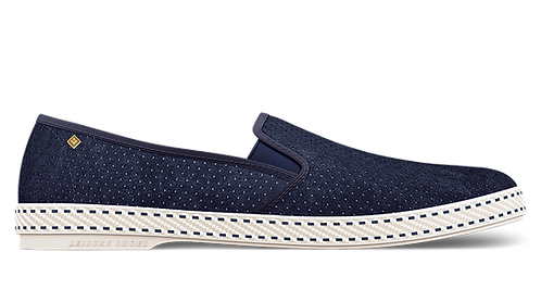 SULTAN 30 DEGRE DAIM MARINE RIVIERAS SHOES HOMME TEL AVIV AT THEGATE24