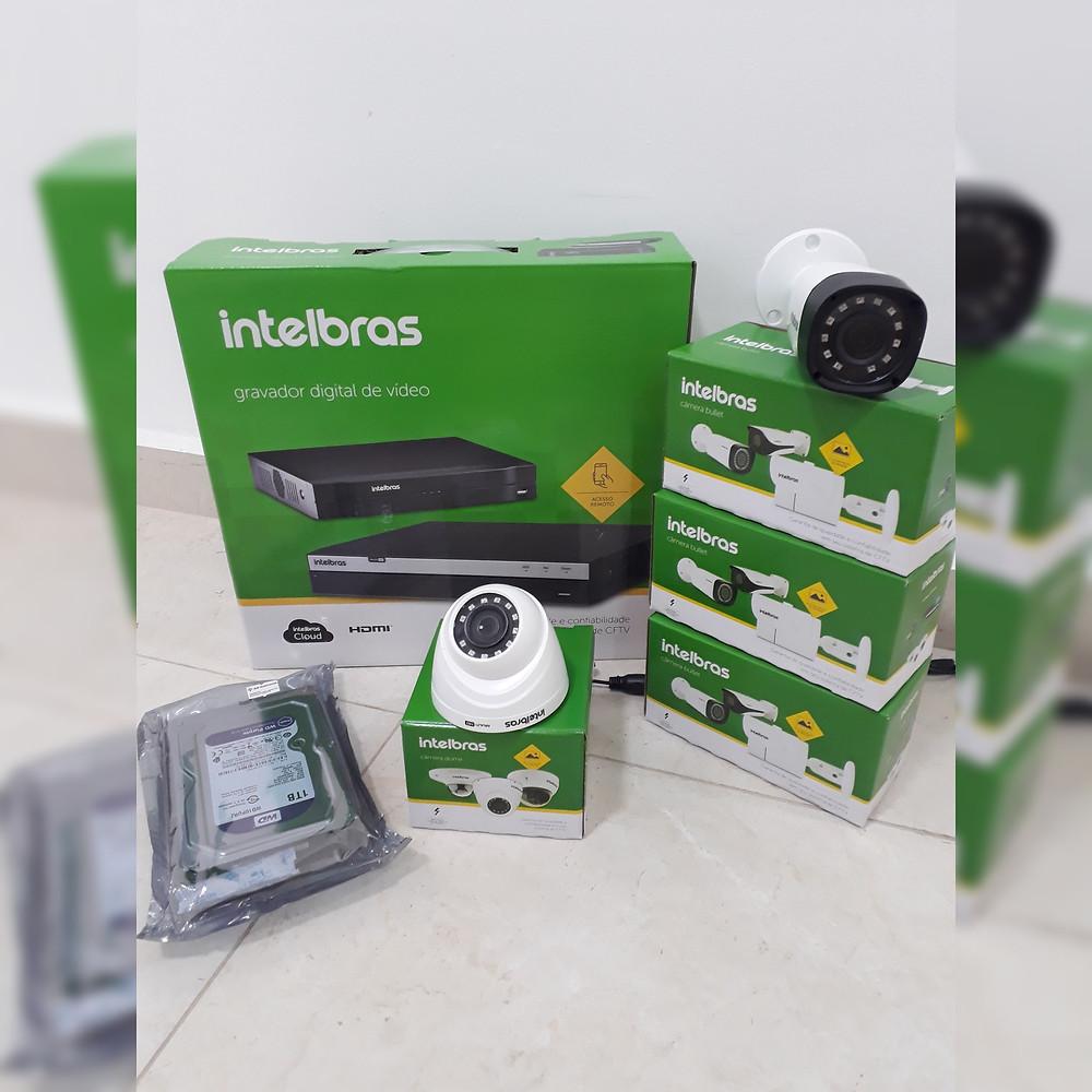 instalação de câmeras de segurança intelbras,jfl,giga,tec voz manutenção de câmeras técnico instalador de cameras residencial zona leste norte sul oeste sp