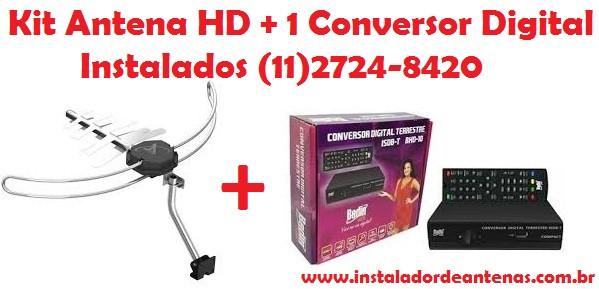 instalador de antena digital HD