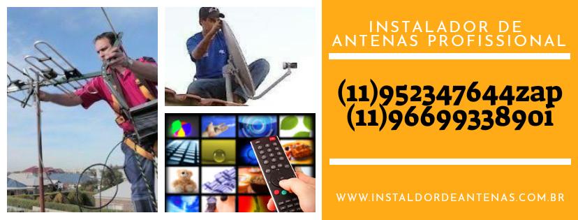 Instalador de Antenas Tatuapé Zona Leste ((11 95234 7644))