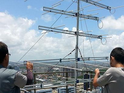 Instalador de Antenas Coletivas manutenção tecnico sp