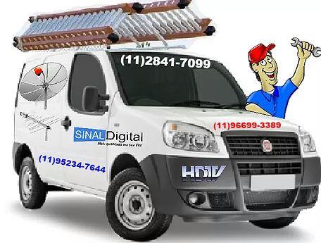 Instalador de Antenas ((11 952347644 Whatsapp )) Aceitamos Cartao