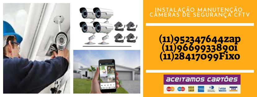 Instalador de Câmera de Segurança Cftv ((11 95234-7644)) Sp