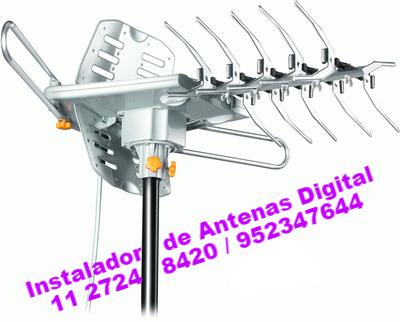 instalador de antenas na zona leste norte sul sp