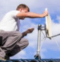 Instalador Técnico Antna Sky livre , Claro tv livre , Oi Tv livre manutenção Apontmento de Antenas Via Sateite